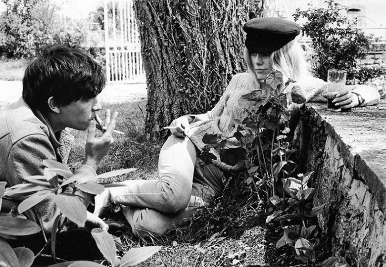 Above: David Bailey and Catherine Deneuve by Eric Swayne