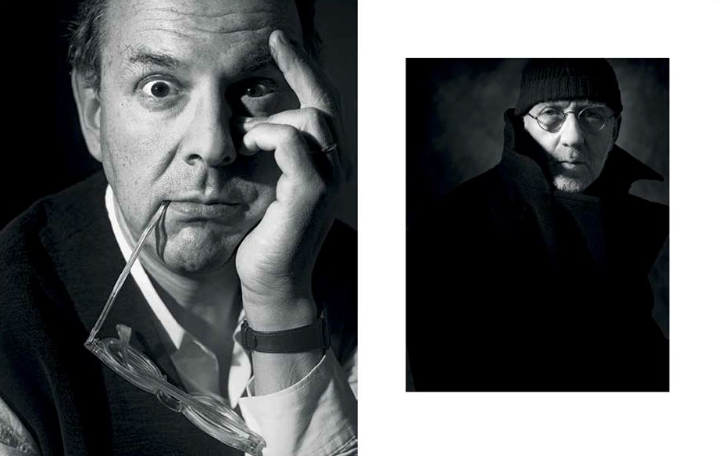 Above: Tibor Kalman and Albert Watson: David Eustace.
