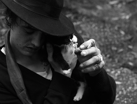 Peter Doherty by Hedi Slimane