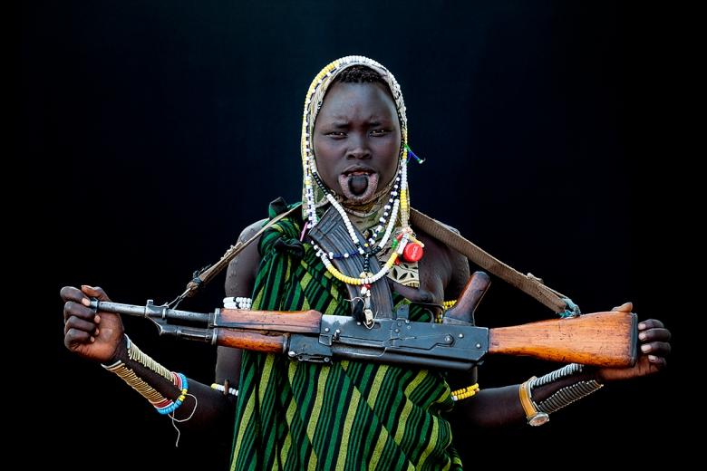 Mursi Tribe, Omo Valley, Ethiopia. Image Martin Middlebrow